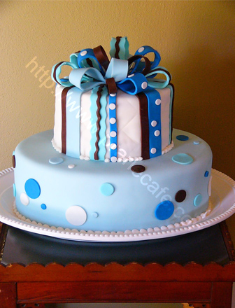 above day of the dead left baby blues - Decorative Cakes